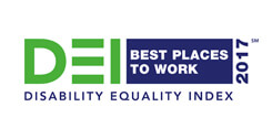 DEI Best Places to Work 2017 Disability Equality Index