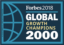 Forbes 2018 Global Growth Champions 2000