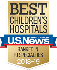 Best Children's Hospital, Ranked in 10 Specialties 2018-2019 - US. News and World Report