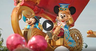 Mickey in parade