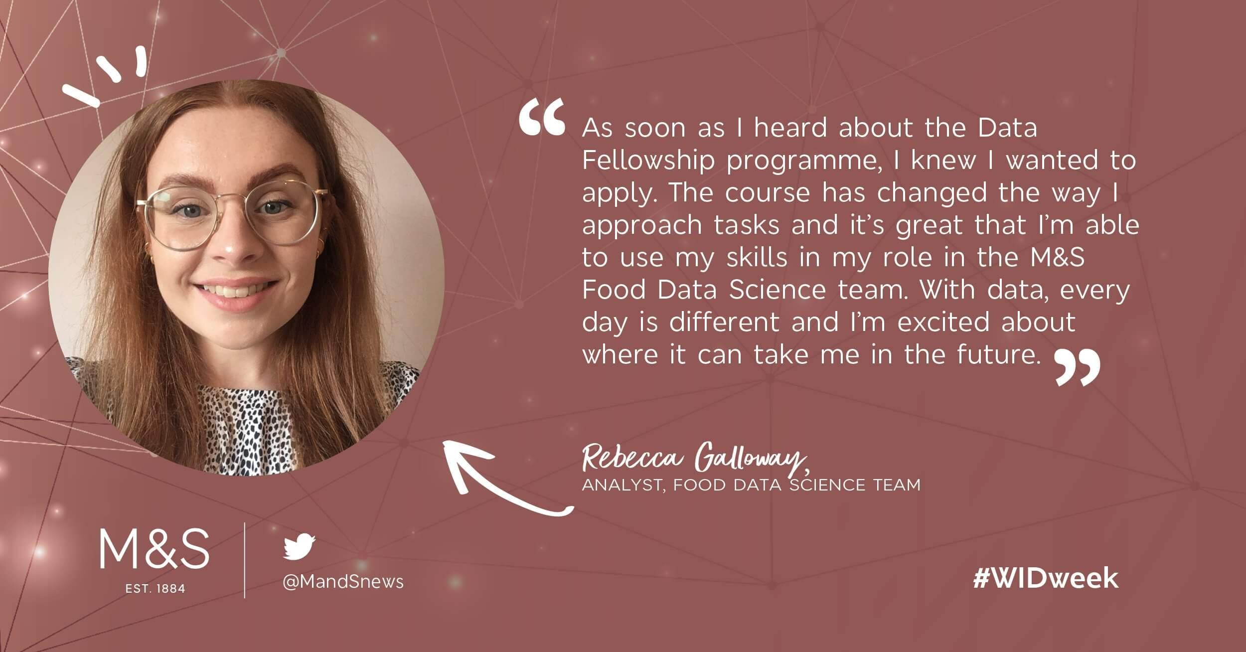 Women in Data Week - Rebecca at M&S