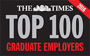 The Times Top 100 Graduate Employers 2016