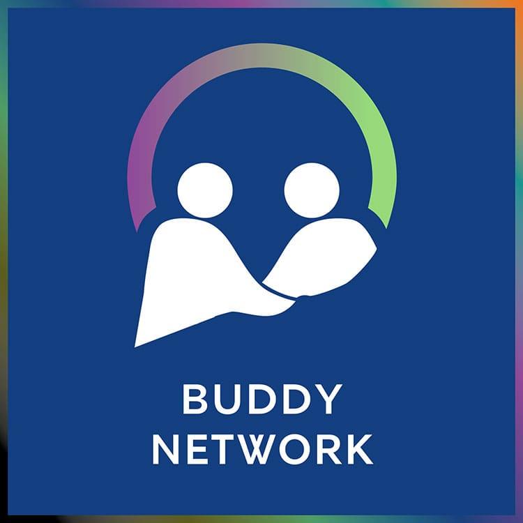 the buddy network logo