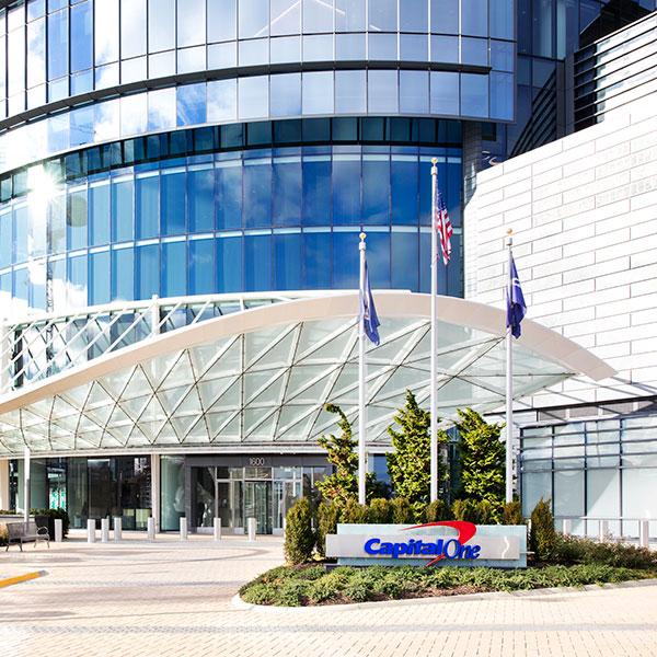 Capital One office campus in McLean, VA