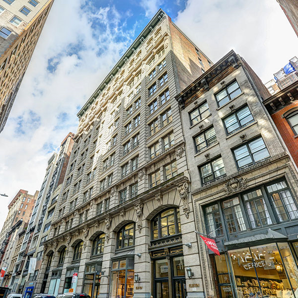 Capital One New York office building in NYC location