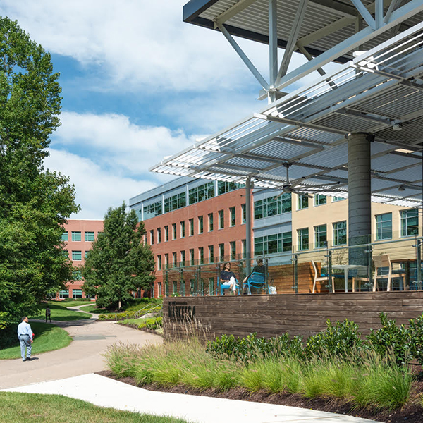 Capital One Richmond office campus in West Creek and Knolls