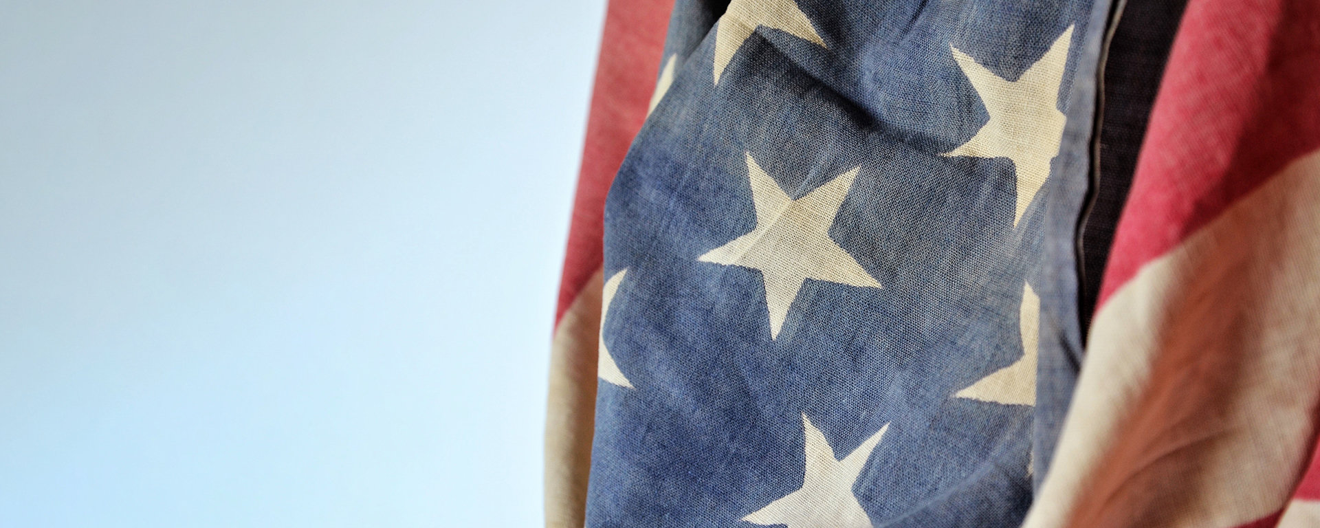An image of the American flag