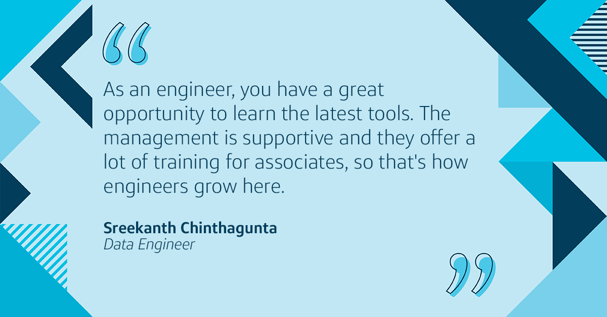 Learn how Capital One tech associate switched careers from data analyst to engineer