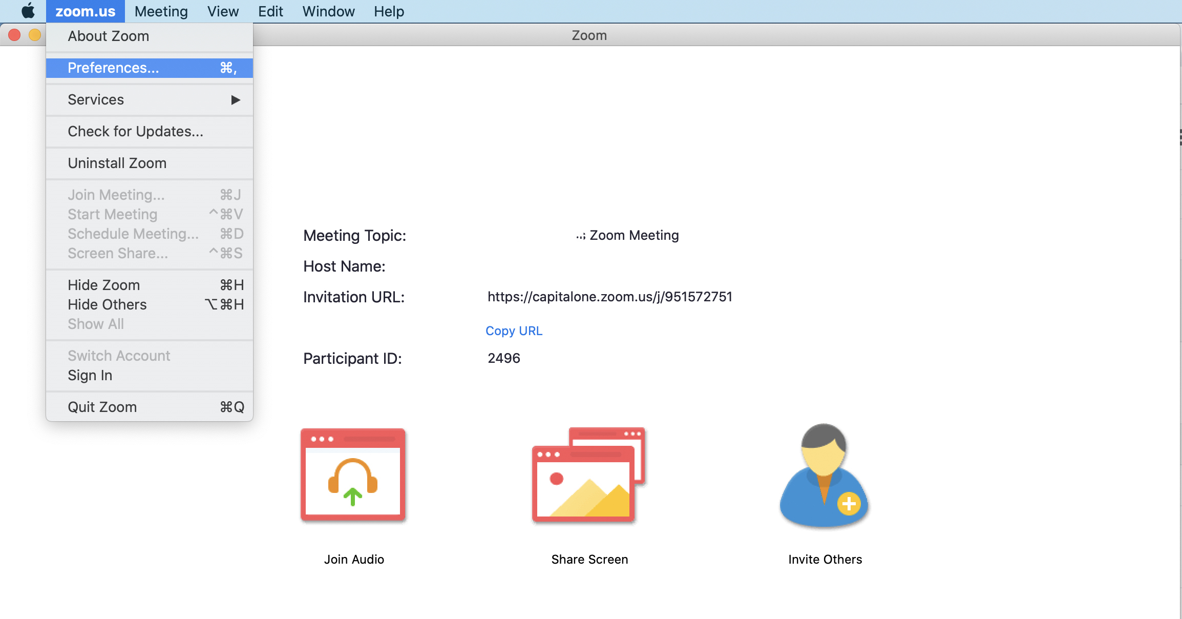 Capital One gives tips on using zoom backgrounds for virtual meetings and interviews