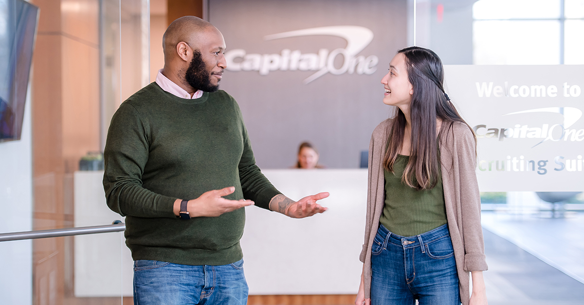 Capital One associates talk about tips to ace their case interview for analyst job interviews