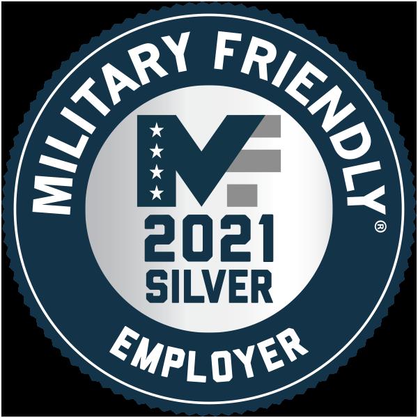 Capital One 2021 Military Friendly Award