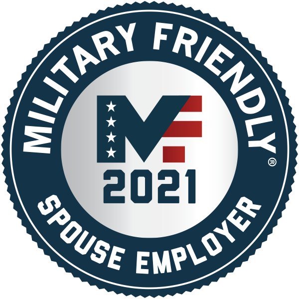 Capital One 2021 Military Spouse Friendly Award