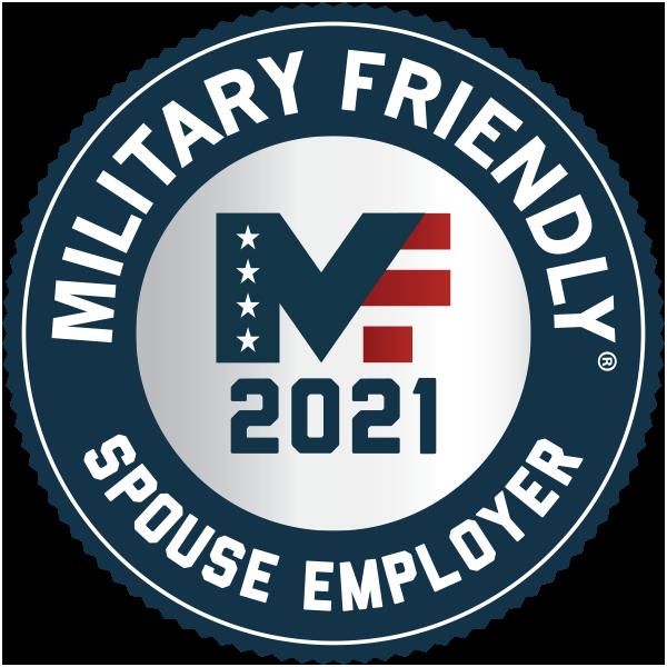 Capital One 2021 Military Spouse Friendly Award
