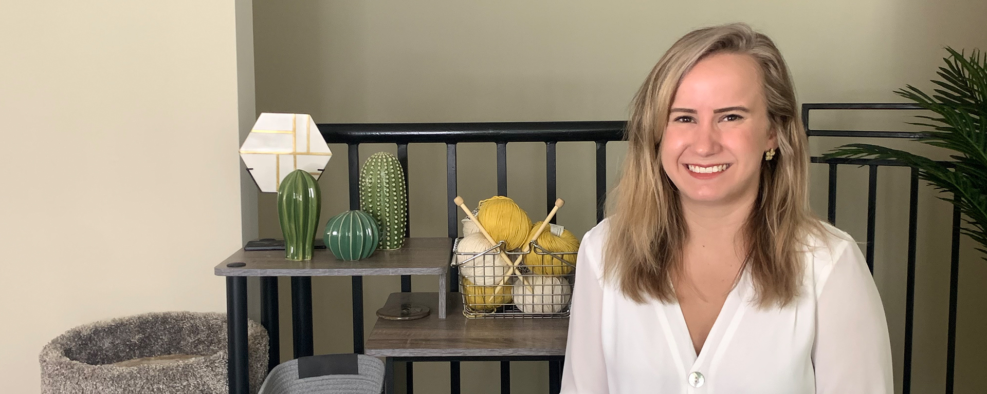 Ari, Capital One product manager, sits in her home and talks about how to be a successful product manager