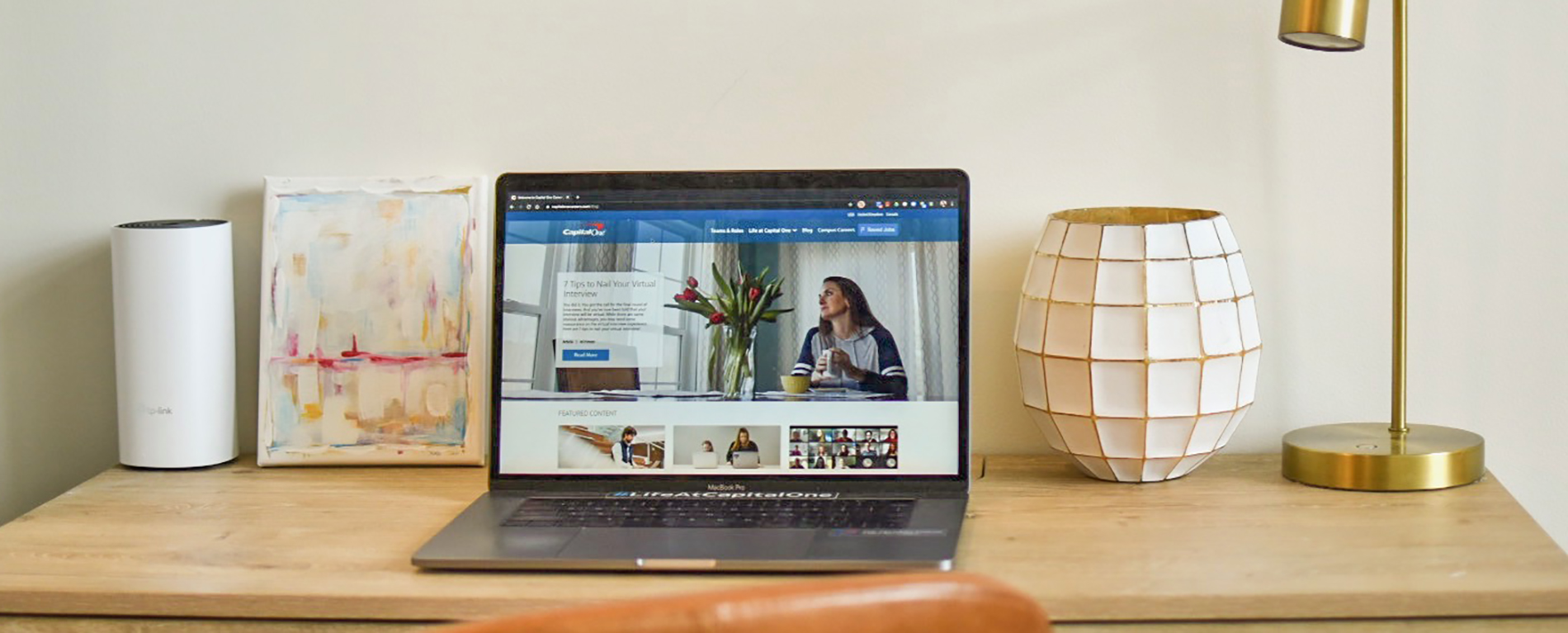Capital One tips for maximizing your space while working from home