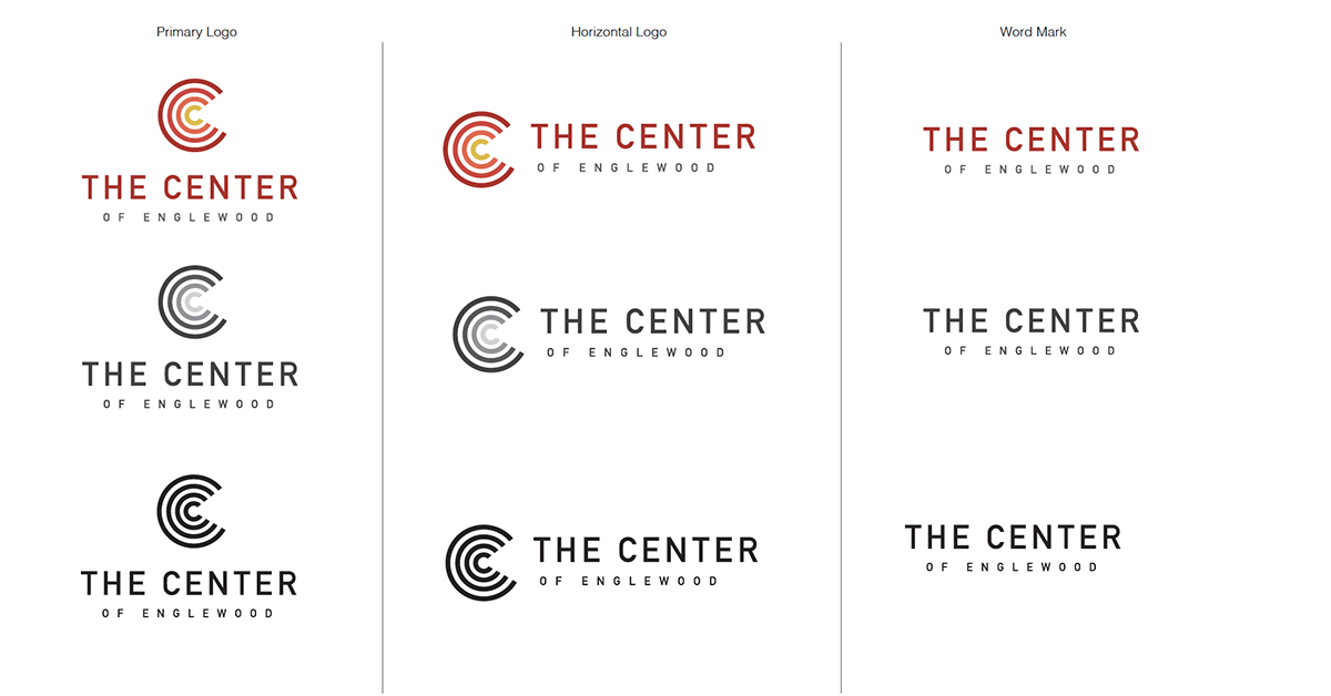 Capital One Four Good style guides, a logo that represents hope and the light of the community