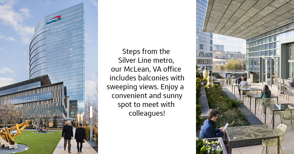 capital one mclean corporate office campus location