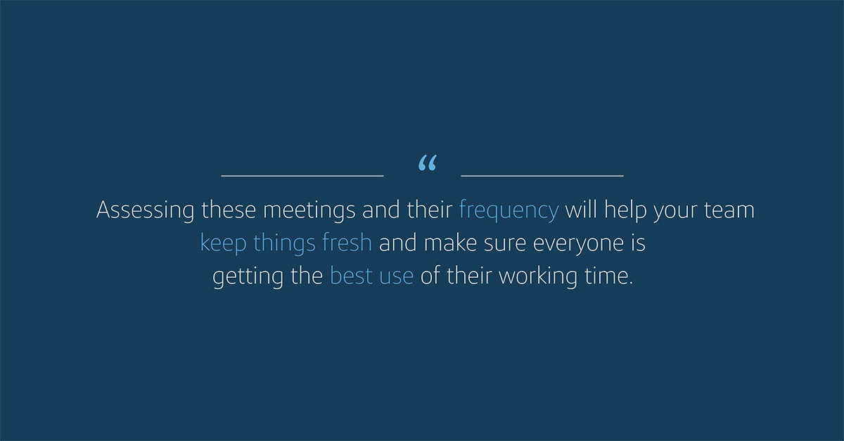 Assessing your remote meeting frequency will help manage your time at Capital One while working from home