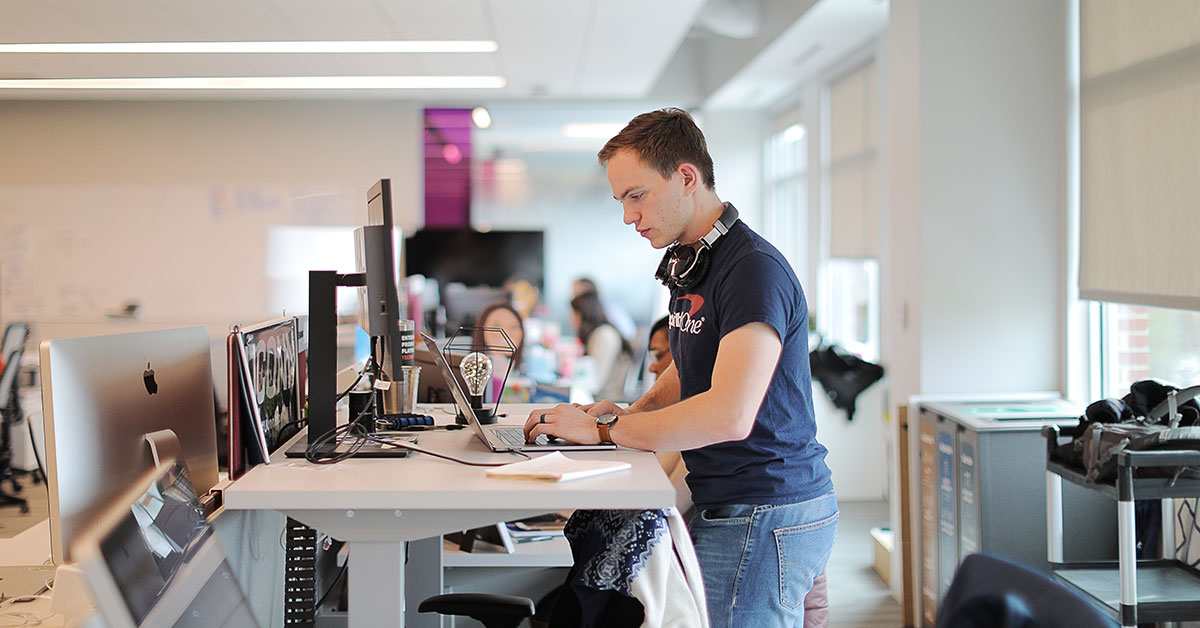Capital One software engineer talks about the benefits of working at capital one