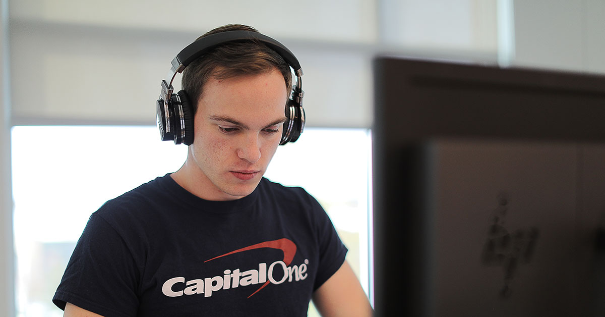 Capital One software engingeer describes the