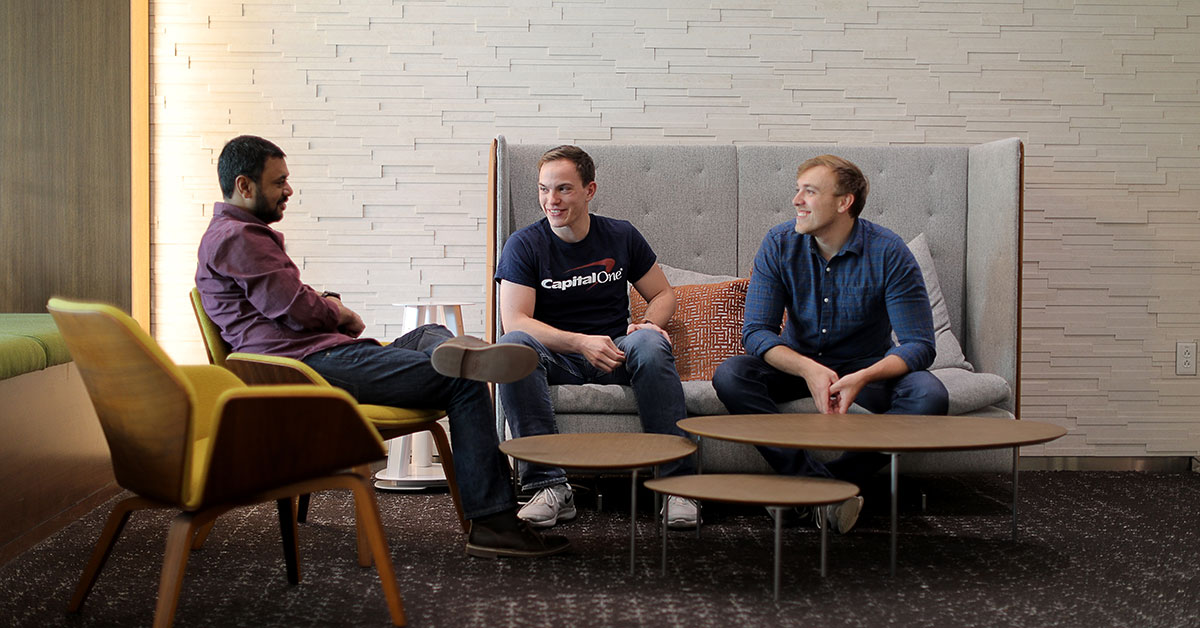 Capital one software engineer talks about culture at capital one