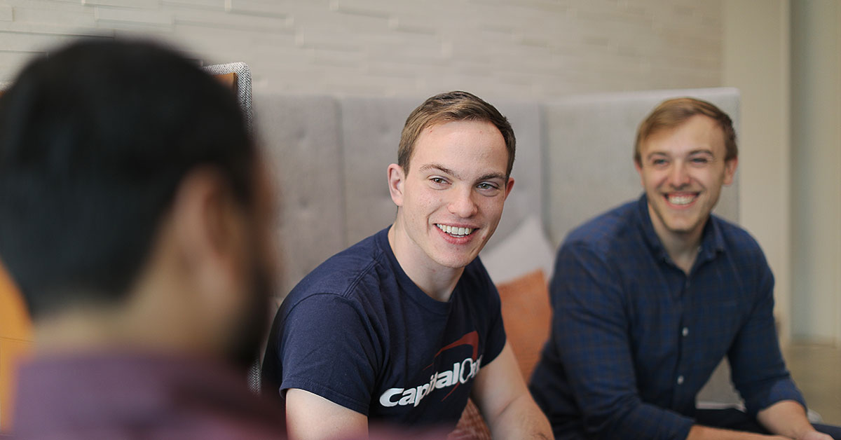 Capital one software engineer talks about the perks of working at west creek