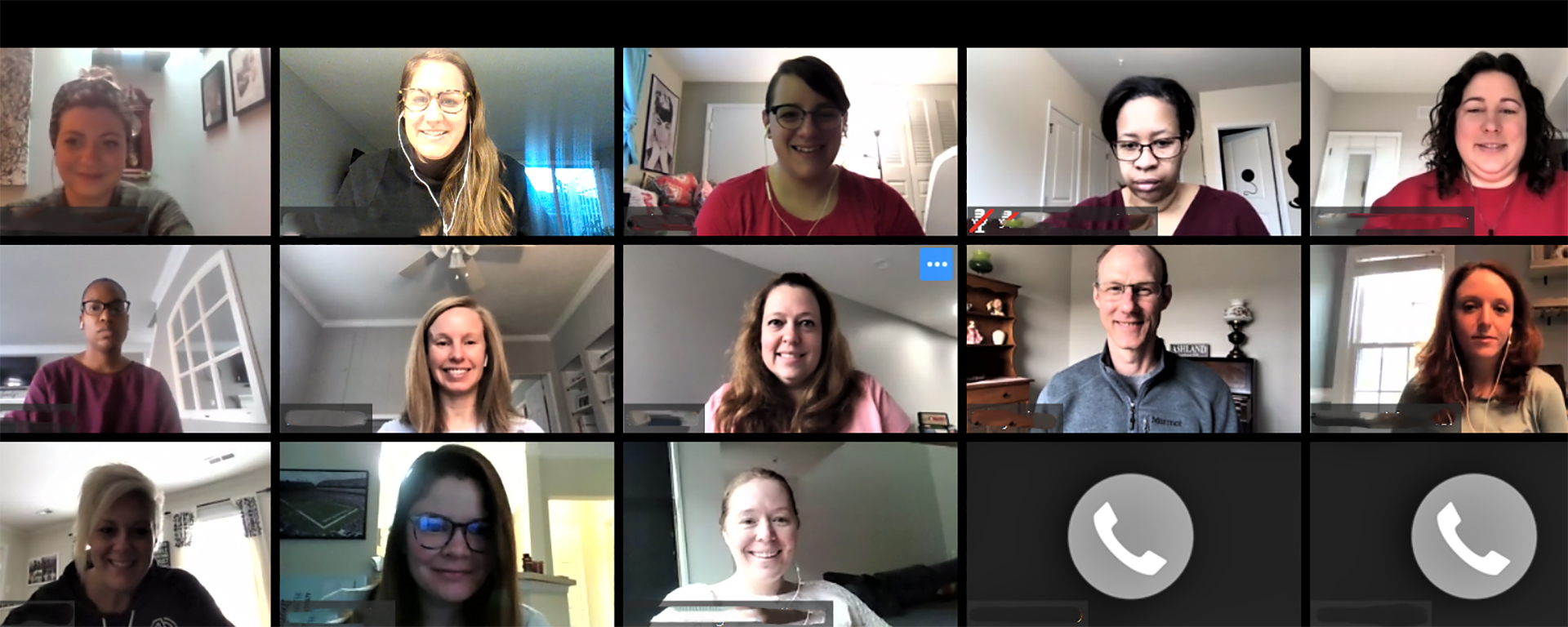 Capital One Talent Marketing team navigates working from home and holding virtual meetings