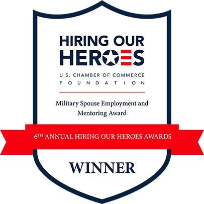 Military Spouse Employment and Mentoring Award