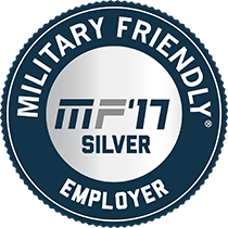 Military Friendly Top 100 Employer 2017
