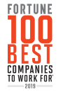 2019 Fortune 100 Best Companies to Work For Award logo