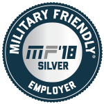 Military Friendly Top 100 Employer 2018
