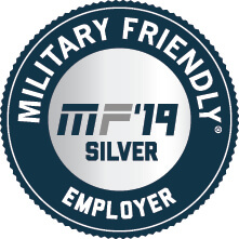 Military Friendly Top 100 Employer 2019