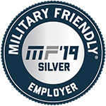 Top 100 Military Friendly Employers 2018 Award logo