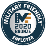Military Friendly Employers 2019 Award logo