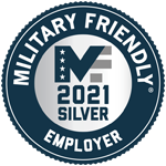 Military Friendly Top 100 Employer 2021