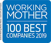 Working Mother - 100 Best Companies 2019 logo