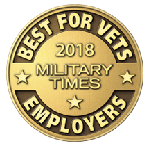 2018 Military Times Best for Vets Employers