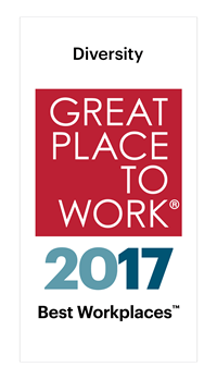 Best Workplace for Diversity 2017 logo