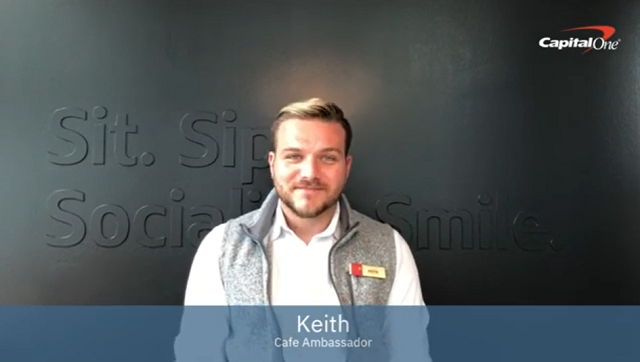 Video: Keith talks about the benefits and resources provided at Capital One.
