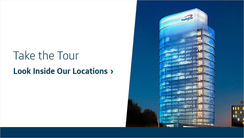 Take the Tour. Look Inside Our Locations.