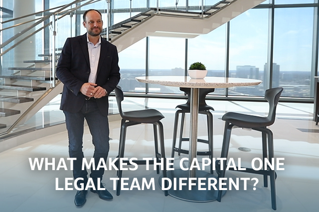 Video: What makes the Capital One Legal Team Different?