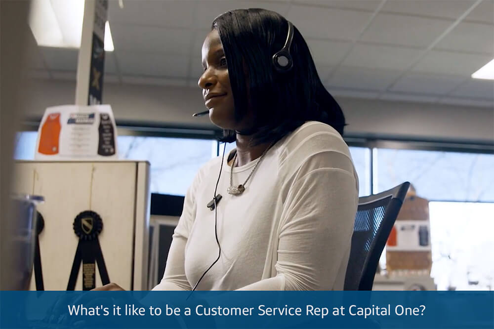 Video: What's it like to be a Customer Service Rep at Capital One?