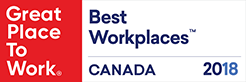 Best Workplace 2018 Canada Logo