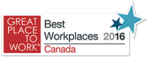 Best Workplace 2016 Canada Logo