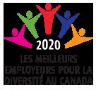 Nommée parmi les meilleurs employeurs en matière de diversité au Canada en 2020