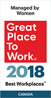 Great Place to Work: 2018 Best Workplaces Managed by Women