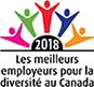 Nommée parmi les meilleurs employeurs en matière de diversité au Canada en 2018