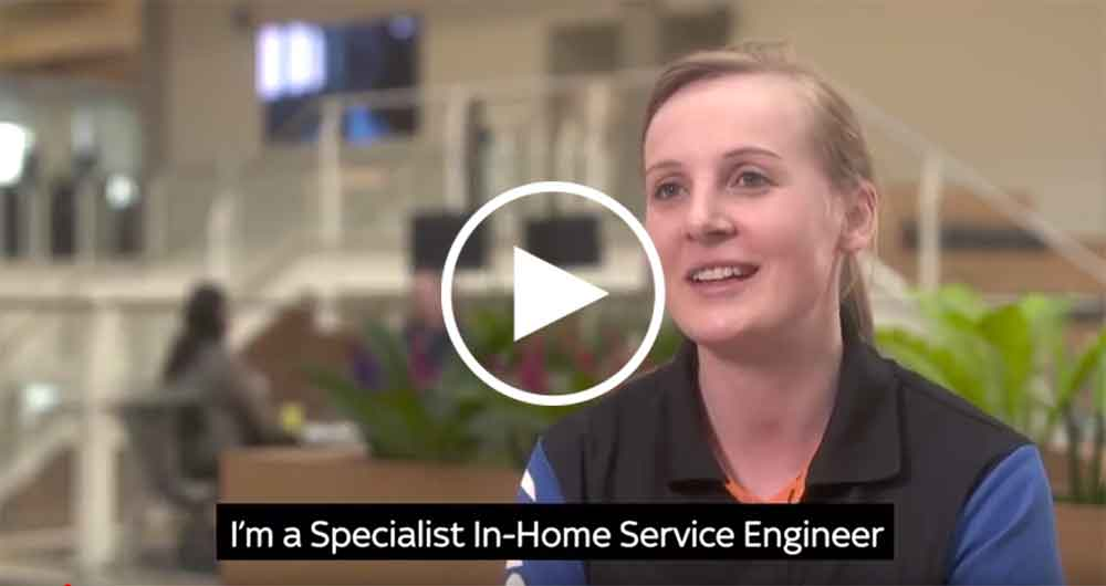Meet Charlotte, our Specialist In-Home Service Engineer