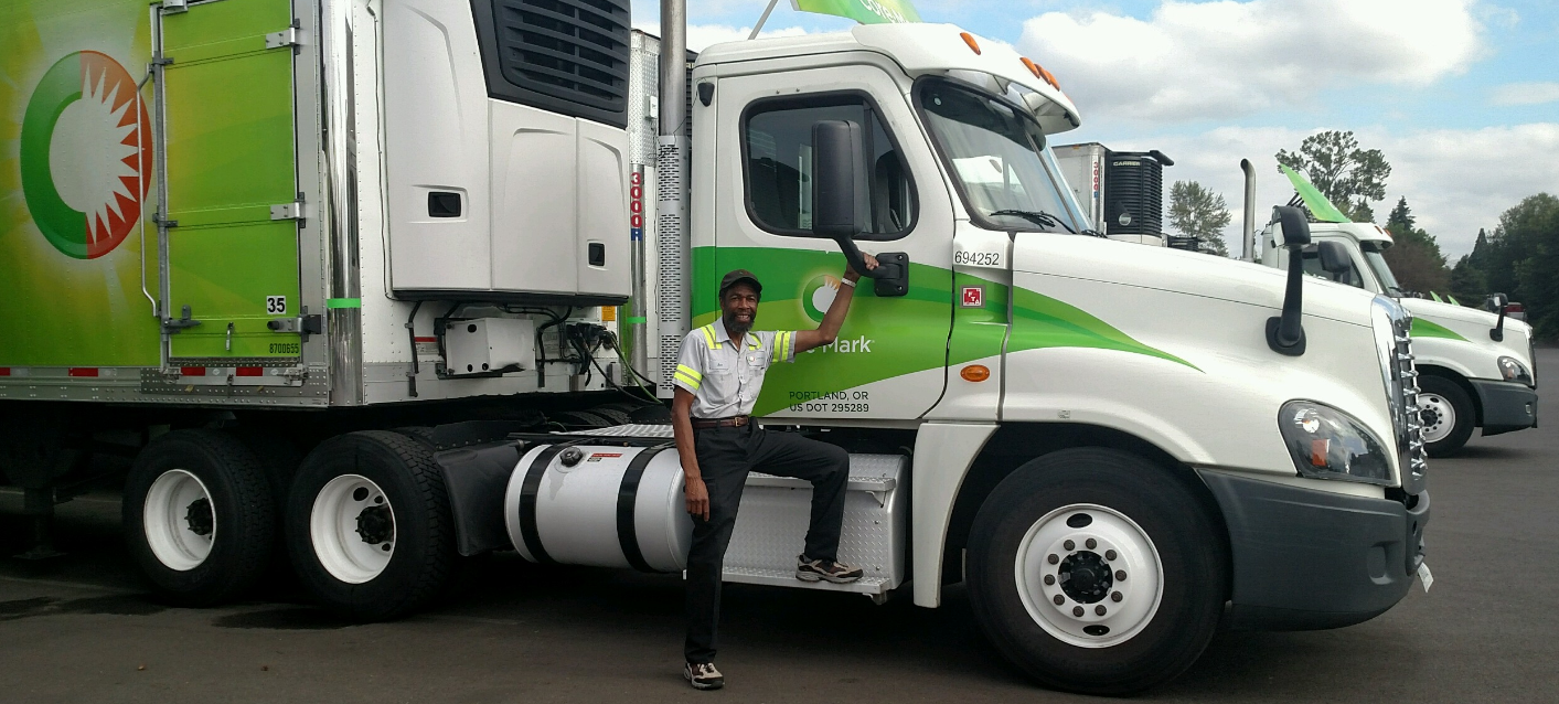 Joe in front of his truck