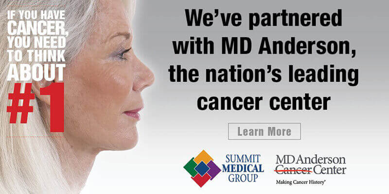 We've partnered with one of the nation's top cancer centers. Learn more.